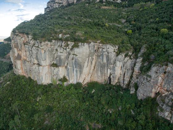 Escalada en Calavera, Montserrat Norte.