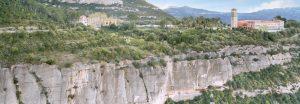 Montserrat Nord, escalada a la vessant fresca