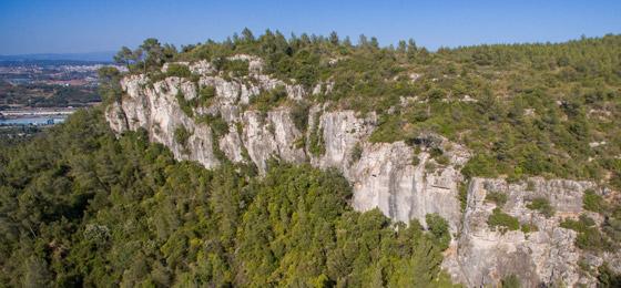 Croquis de escalada en Pic de l'Àliga.