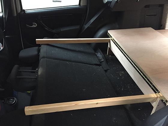 Cómo hacer una cama para coche o furgoneta camper | Climb Around