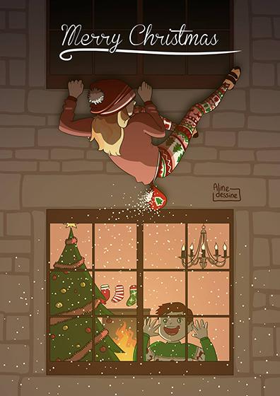 Feliz Navidad llena de escalada fanático!