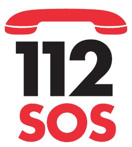 Llamada de emergencias al 112.