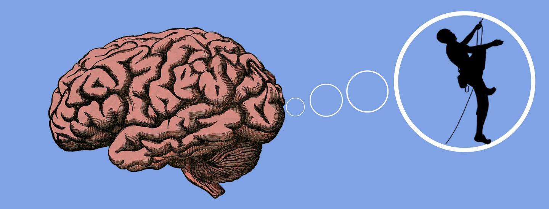El poder de la ment a l'escalada.