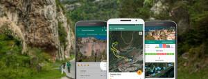 Aproximaciones: Mapas de acceso a los sectores de escalada