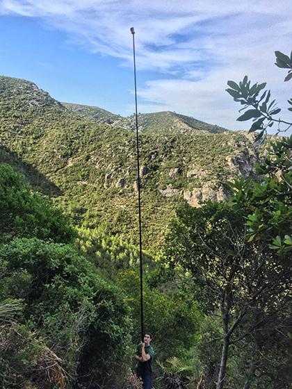 Fotografia para croquis de escalada, nuevas técnicas de Climb Around.