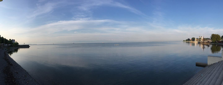 Lago de Friedrichshafen.