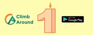 1r aniversario de la app de escalada