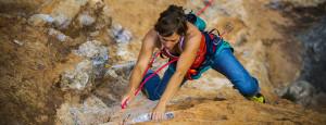 Cómo escoger una cuerda de escalada