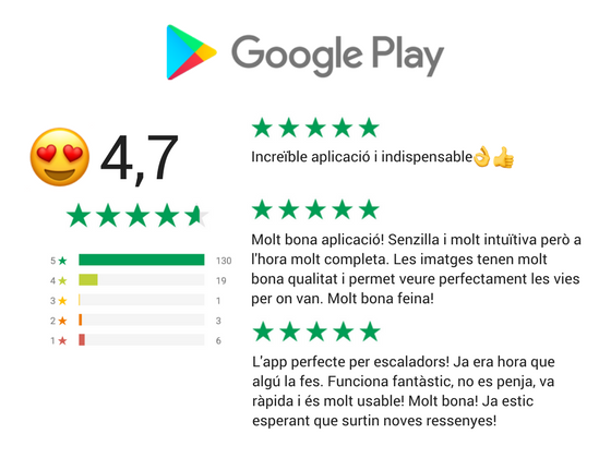 Valoració de Climb Around a Google Play.