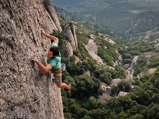 La escalada nos absorbe y engancha, ¡qué motivación!