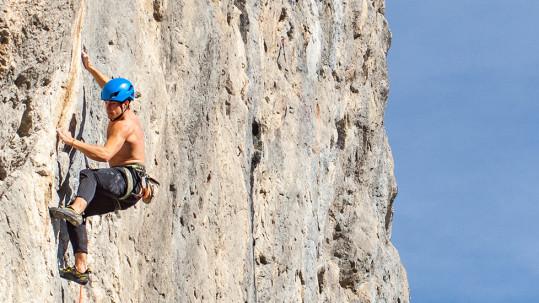 Com mantenir la motivació per a escalar amb Climb Around.