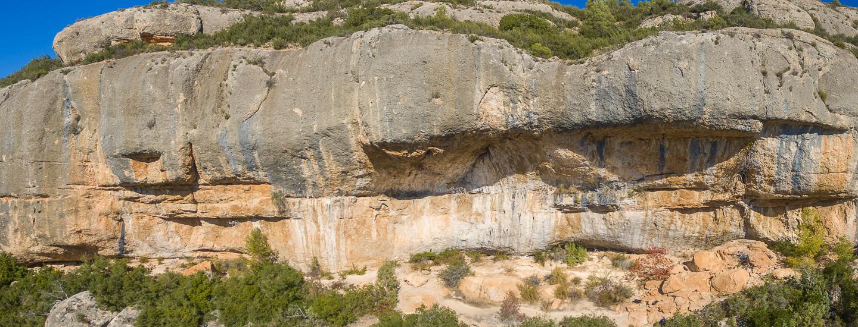 Ressenyes d'escalada de Margalef.